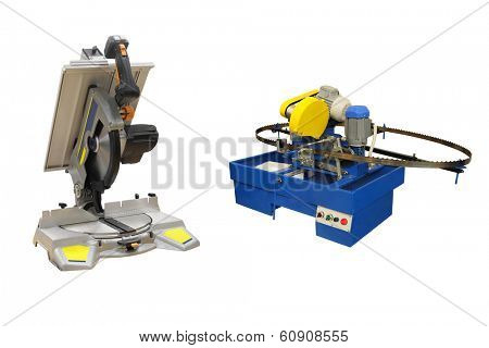 Thye image of a woodworking saws