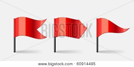 Flags. Vector Illustration