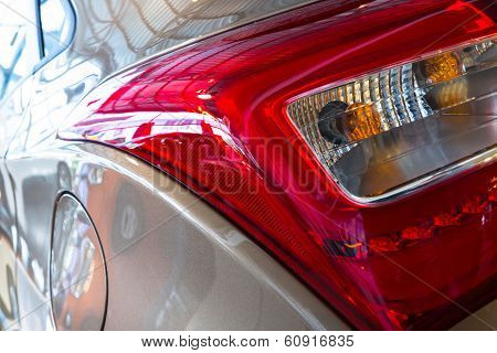 A Car Rear, Brake Light