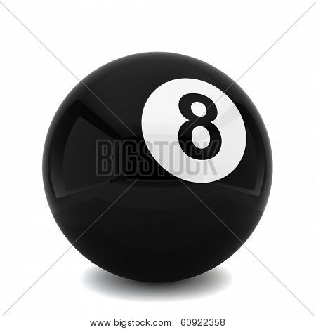 Billiard Eight Ball