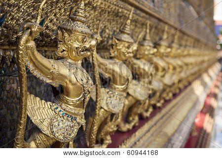 Garuda Sculpture At Grand Palace (wat Pha Keaw), Thailand