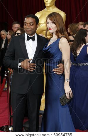 LOS ANGELES - MAR 2:: Chiwetel Ejiofor  at the 86th Annual Academy Awards at Hollywood & Highland Center on March 2, 2014 in Los Angeles, California