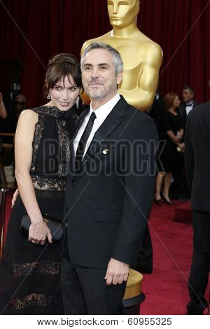 LOS ANGELES - MAR 2:: Alfonso Cuaron  at the 86th Annual Academy Awards at Hollywood & Highland Center on March 2, 2014 in Los Angeles, California