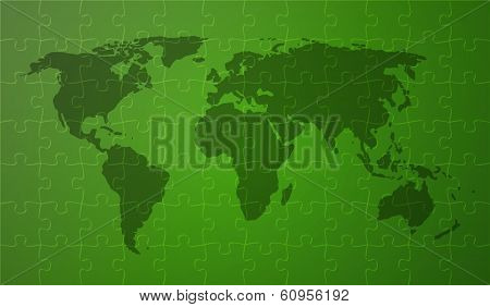 Green Worldmap