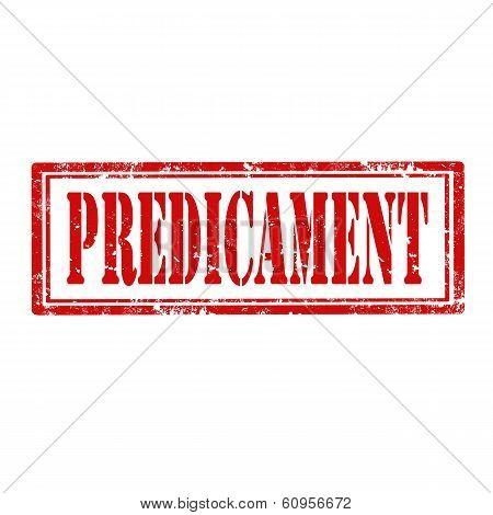 Predicament-stamp