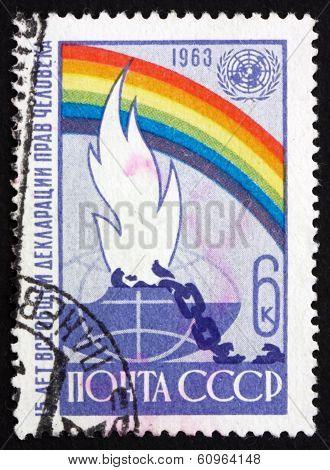 Postage Stamp Russia 1963 Universal Declaration Of Human Rights
