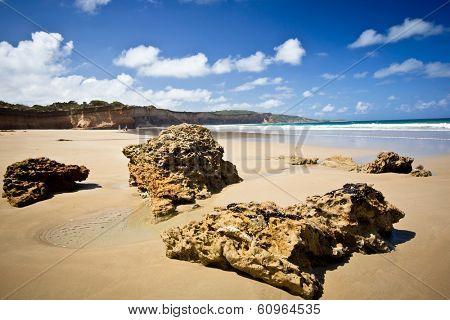 Coastal scene at Anglesea, Victoria