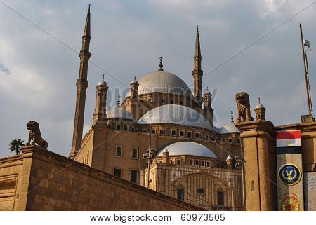 Mosque of Mohammed Ali in Cairo