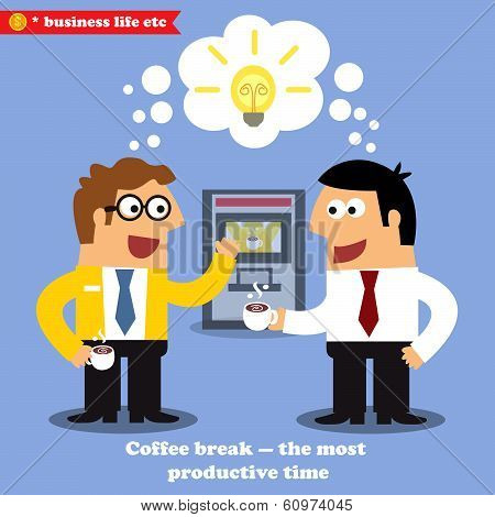 Coffee break collaboration