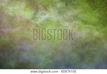 Greenish Dominant background