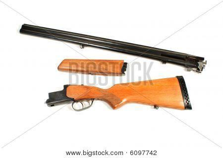Disassembled Sporting Gun