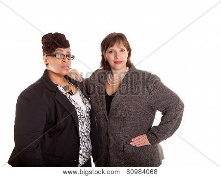 Mixed Race Business Women