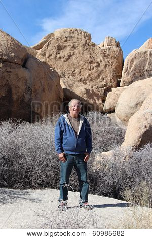Senior in Joshua Tree National Park
