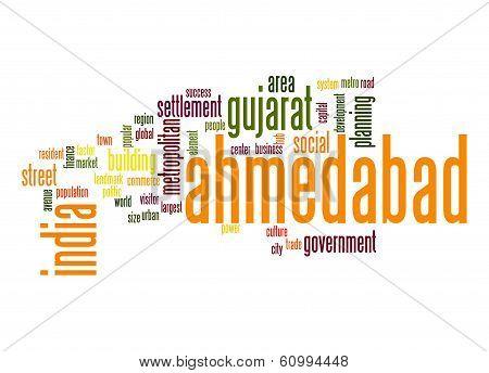Ahmedabad Word Cloud