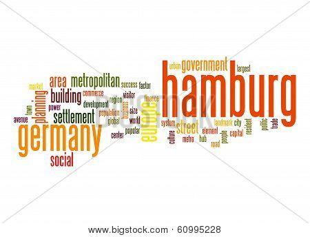 Hamburg Word Cloud