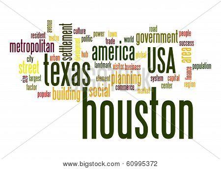 Houston Word Cloud