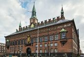 foto of copenhagen  - Copenhagen City Hall is situated on The City Hall Square in central Copenhagen - JPG