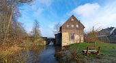 stock photo of water-mill  - The T - JPG