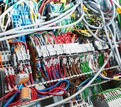 pic of fuse-box  - Electrical supplies closeup - JPG
