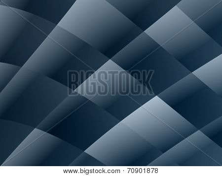 Abstract Blue Geometric  Background