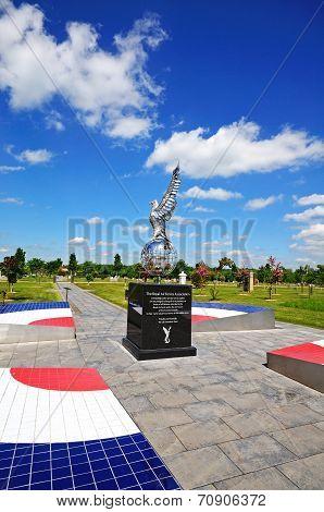 Royal Air Force war memorial, Alrewas.