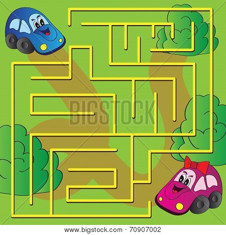 Vector Maze Game