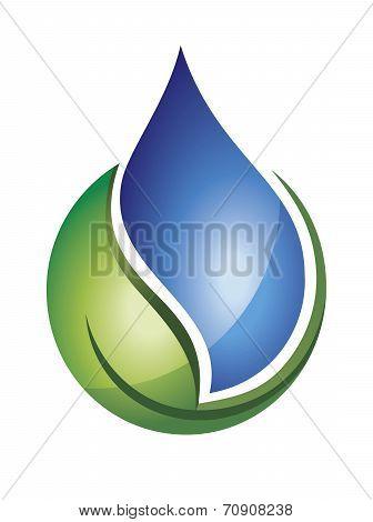 Crown of water splash