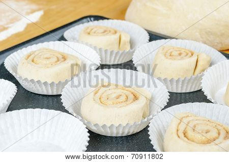 Unbaked Buns