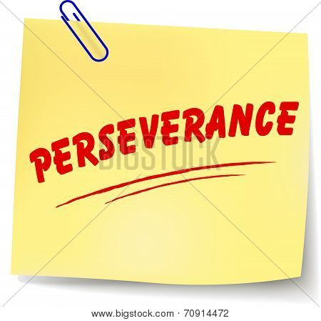 Perseverance Message