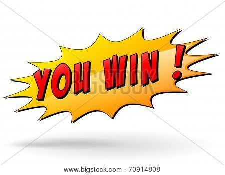 Winner Sign