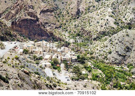 Oman Village Saiq Plateau