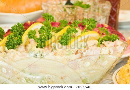 Banquet In The Restaurant