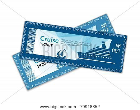 Ship cruise tickets