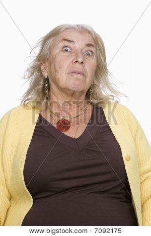 Portrait Of A Senior Female