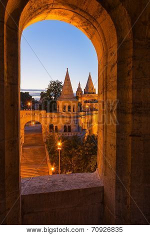 The Fisherman's Bastion Budapest Hungary
