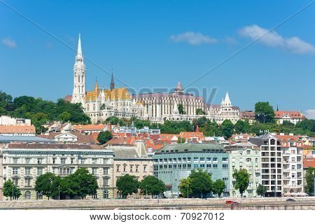 Fisherman's Bastion And Matthias Church Budapest