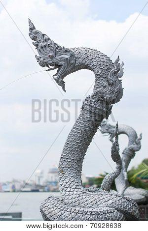 Dargon or Gana statue