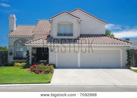 New American dream home