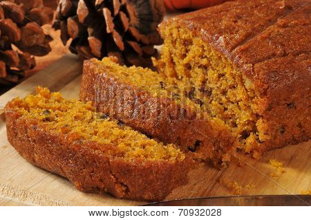 Fresh Baked Pumpkin Bread