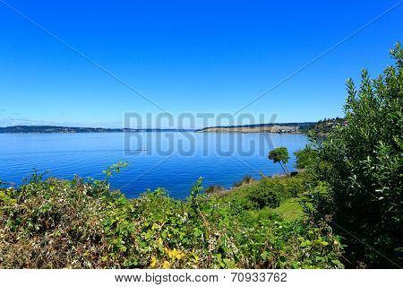Steilacoom Beach Park. Washington State