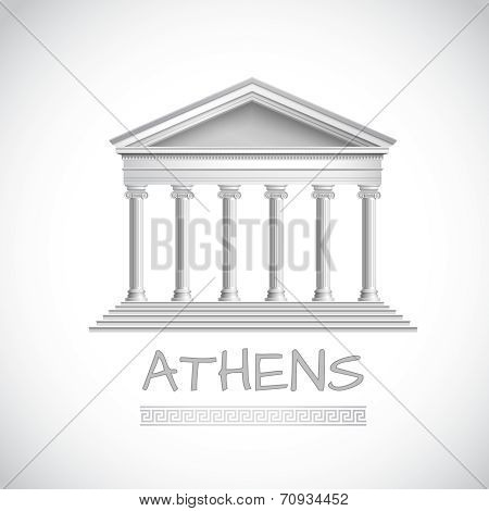 Athens temple emblem