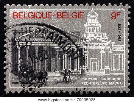 Postage Stamp Belgium 1982 Judiciary Sesquicentennial