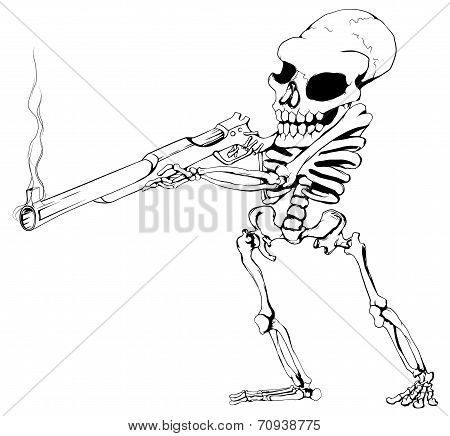 Skeleton Gunman