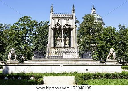 Potocki Mausoleum In Wilanów, Warsaw