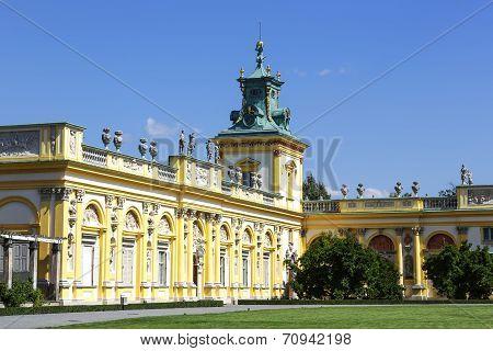 Royal Palace, Warsaw, Wilanow, Poland