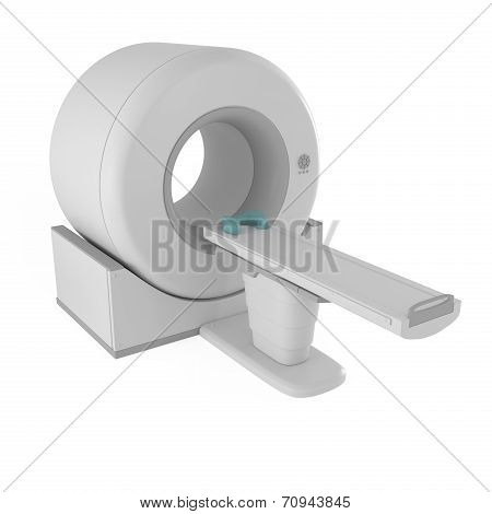 Magnetic Resonance Imager Mri Scanner Isolated On White