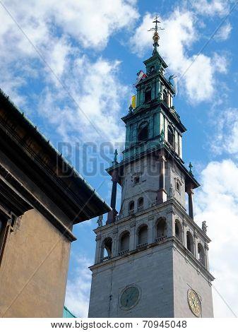 The Sanctuary Of Jasna Gora In Czestochowa