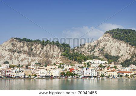 View Of Zante On Zakynthos Island