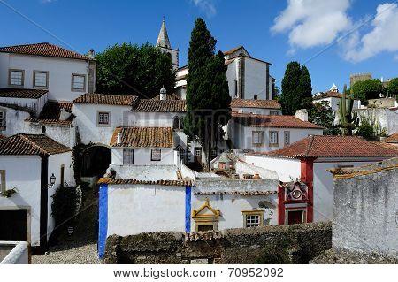 Town Obidos, Portugal