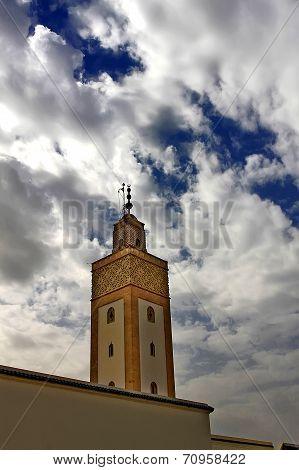 Royal Palace Minaret In Rabat